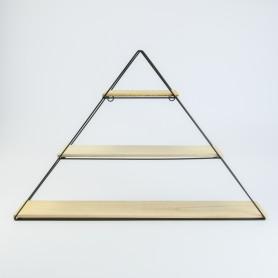 Metalen rek driehoek met 3...