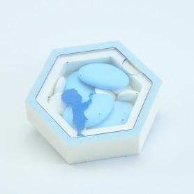 Boîte acrylique hexagone...