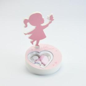 boîte acrylique coeur avec...