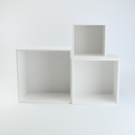 set kubusblokken wit (18cm...