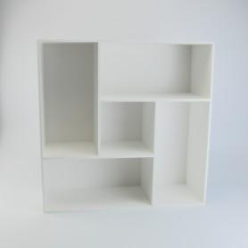 Bibliotheekkastje met 5...