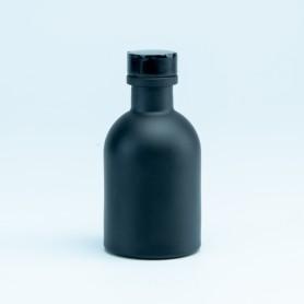 Luxe flesje zwart met...