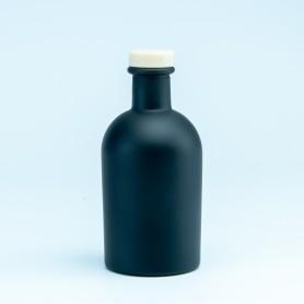 Luxe fles zwart met naturel...