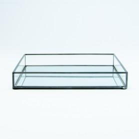 Dienblad rechthoek in glas...